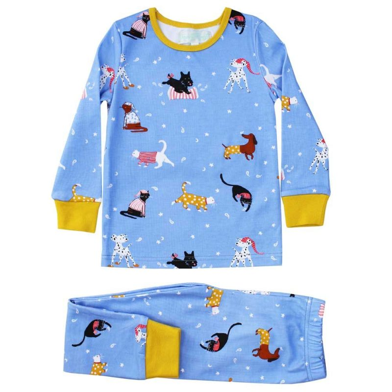 Cats And Dogs Cosy Pyjamas